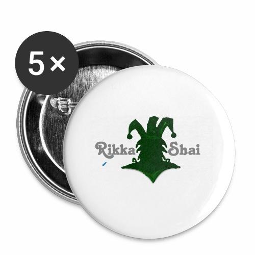 Rikka Shai LOCO LOGO - Buttons large 2.2'' (5-pack)