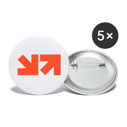 MinnMax Orange Logo - Buttons large 2.2'' (5-pack)