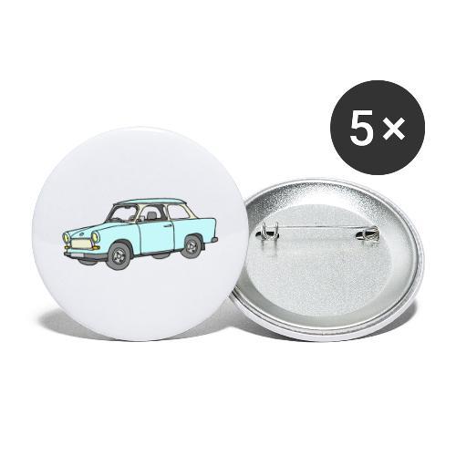 Trabant (lightblue) - Buttons large 2.2'' (5-pack)