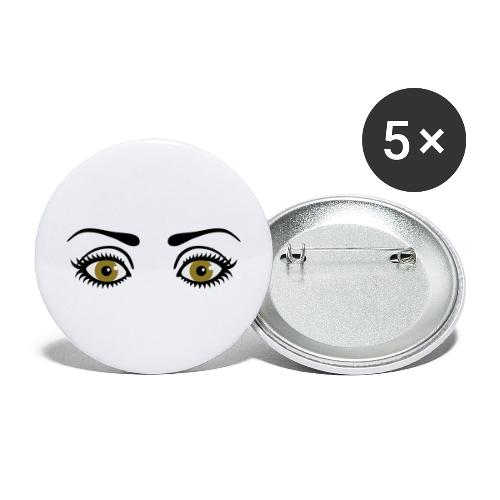 Eyes Wide Open - Buttons large 2.2'' (5-pack)