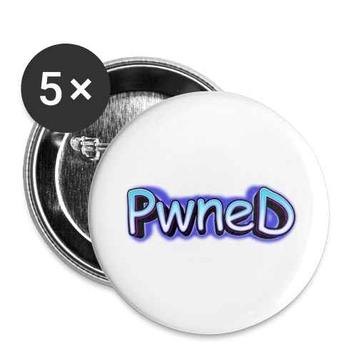 Pwned - Buttons large 2.2'' (5-pack)