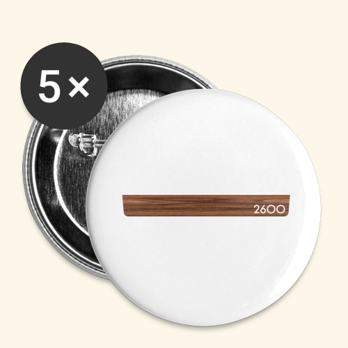 wood2600 - Buttons large 2.2'' (5-pack)