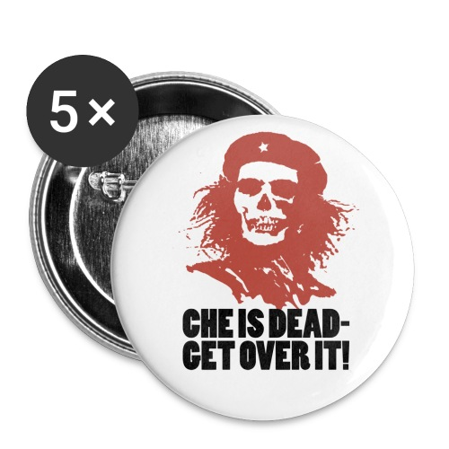 che is dead - Buttons large 2.2'' (5-pack)