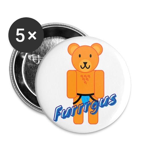 Furrrgus @ Underbear - Buttons large 2.2'' (5-pack)