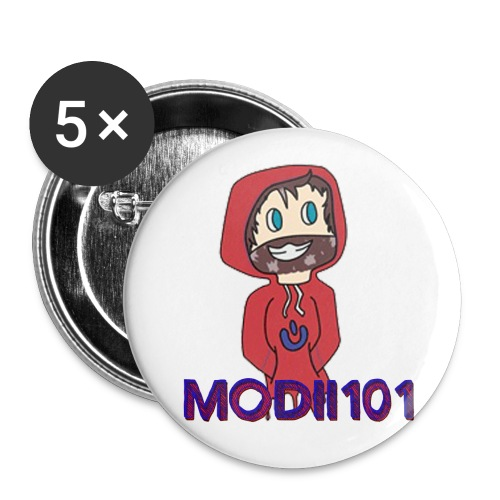 MODII FACE FINAL - Buttons large 2.2'' (5-pack)