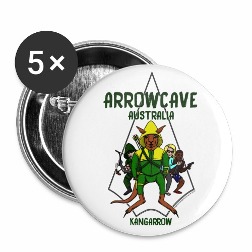 Arrow Cave Logo - Buttons large 2.2'' (5-pack)
