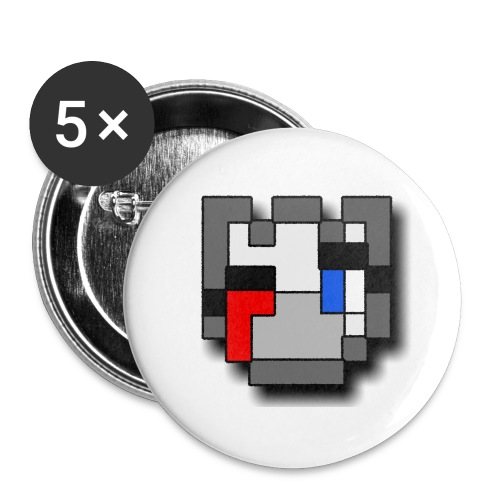 QSKSwMask png - Buttons large 2.2'' (5-pack)