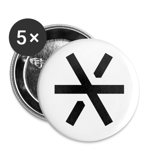 Hexler Logo Rice - Buttons large 2.2'' (5-pack)
