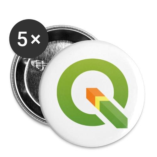 Q_600dpi_transp_bg - Buttons large 2.2'' (5-pack)