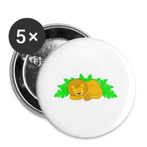 Sleeping Lion - Large Buttons
