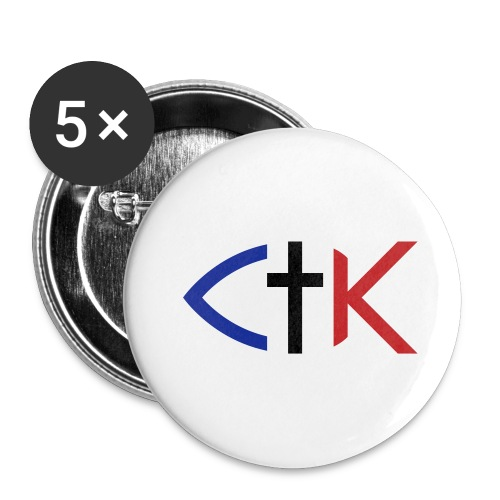 ctkfishsvg - Buttons large 2.2'' (5-pack)