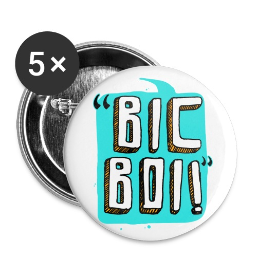 op bic boi bubble - Buttons large 2.2'' (5-pack)