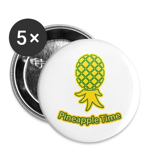 Swingers - Pineapple Time - Transparent Background - Buttons large 2.2'' (5-pack)