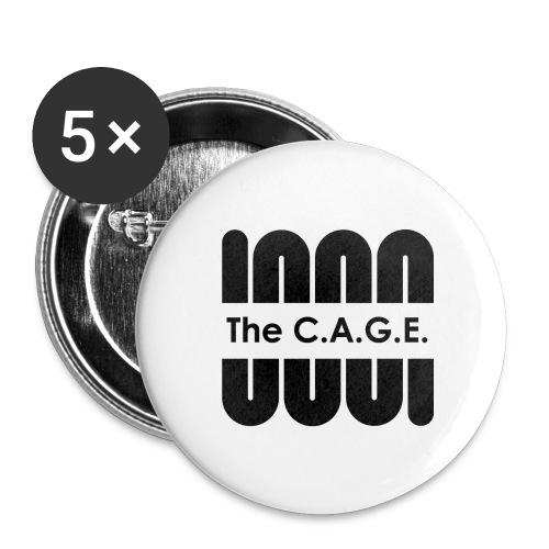 Coil black png - Buttons large 2.2'' (5-pack)