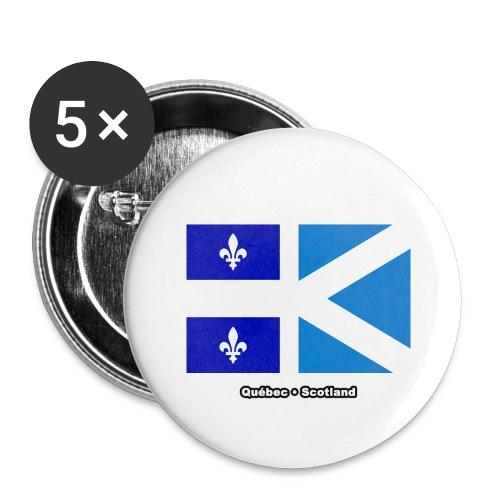 Québec Scotland - Buttons large 2.2'' (5-pack)