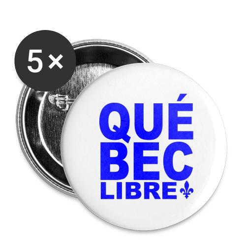 Québec libre - Buttons large 2.2'' (5-pack)