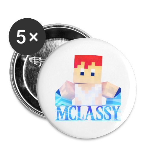 ClassyTV Icon 2 - Buttons large 2.2'' (5-pack)