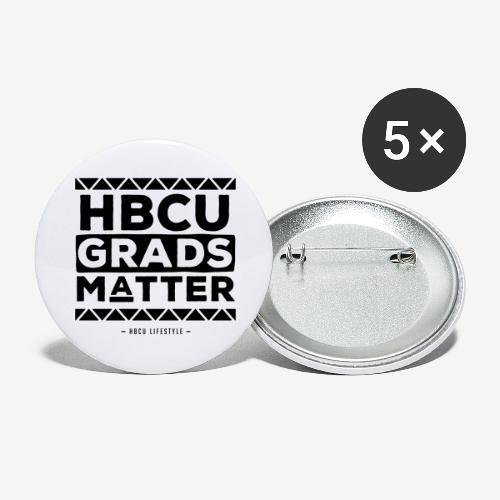 HBCU Grads Matter - Buttons large 2.2'' (5-pack)