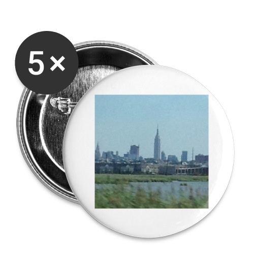 New York - Buttons large 2.2'' (5-pack)