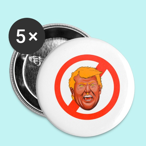 Dump Trump - Buttons large 2.2'' (5-pack)