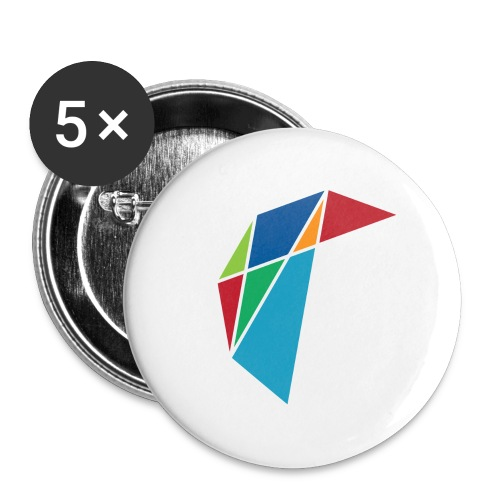 GLARE Logo - Buttons large 2.2'' (5-pack)