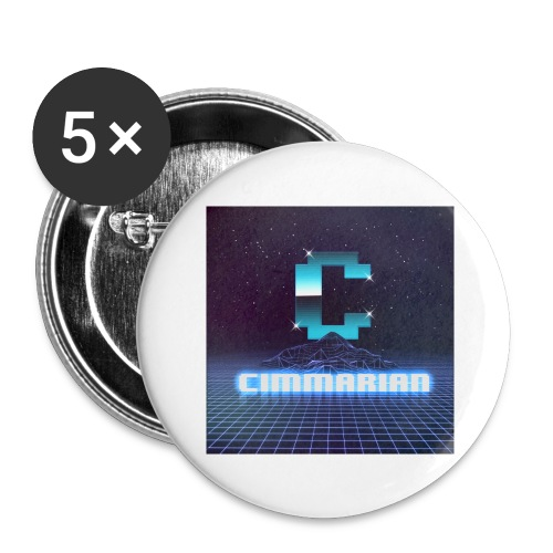 The killer 80s logo - Buttons large 2.2'' (5-pack)
