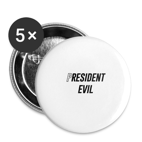 President Evil - Buttons large 2.2'' (5-pack)