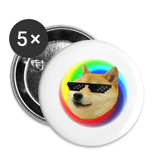 Doge - Buttons large 2.2'' (5-pack)