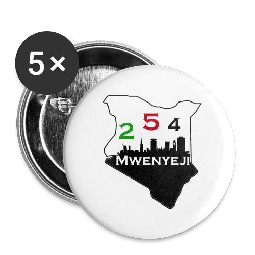 Mwenyeji Wa Kenya - Buttons large 2.2'' (5-pack)