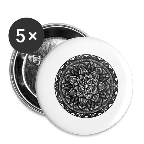 Circle No.2 - Buttons large 2.2'' (5-pack)