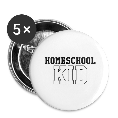 homeschoolkid - Buttons large 2.2'' (5-pack)