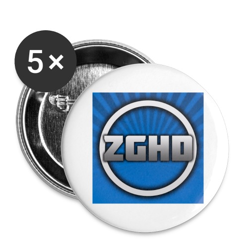 ZedGamesHD - Buttons large 2.2'' (5-pack)