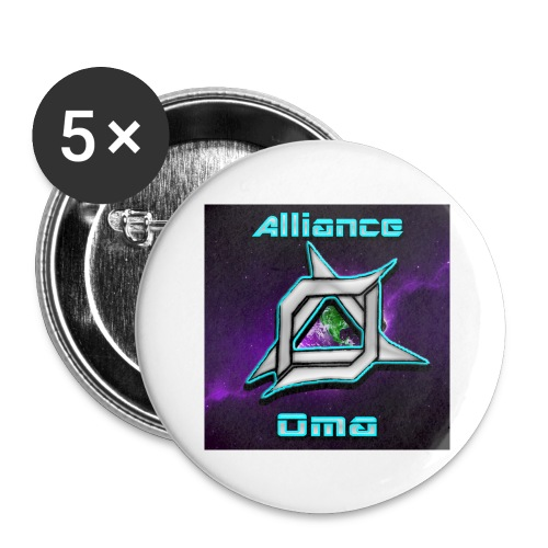 Oma Alliance - Buttons large 2.2'' (5-pack)