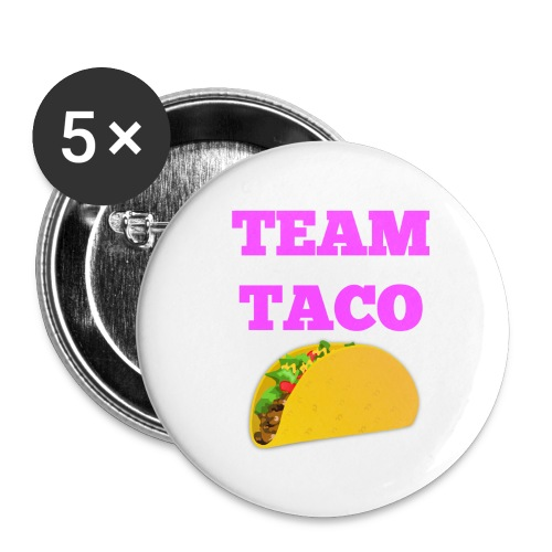 TEAMTACO - Buttons large 2.2'' (5-pack)