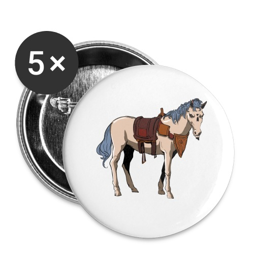 Useless the Horse png - Buttons large 2.2'' (5-pack)