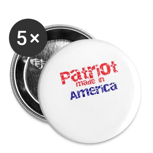 Patriot mug - Buttons large 2.2'' (5-pack)