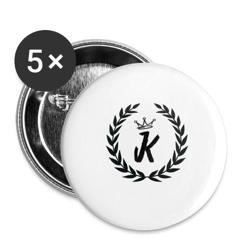 KVNGZ APPAREL - Buttons large 2.2'' (5-pack)