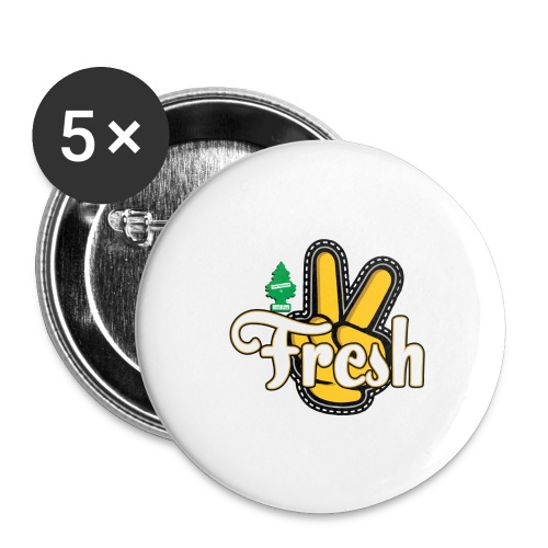 2Fresh2Clean - Buttons large 2.2'' (5-pack)