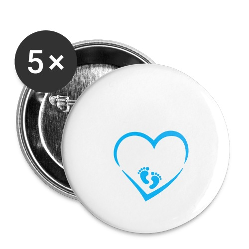 Baby coming soon - Buttons large 2.2'' (5-pack)