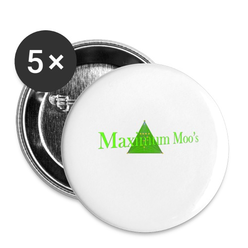 Maximum Moos - Buttons large 2.2'' (5-pack)