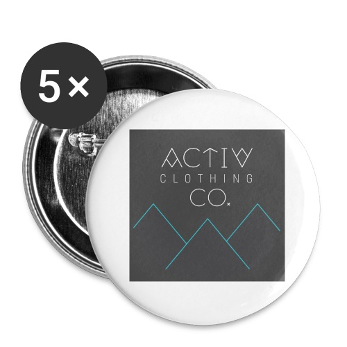 Activ Clothing - Buttons large 2.2'' (5-pack)