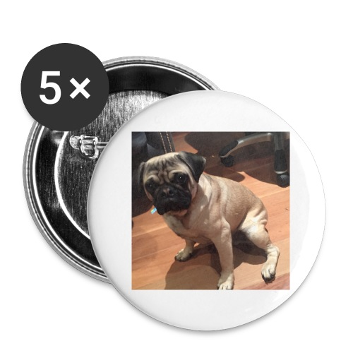 Gizmo Fat - Buttons large 2.2'' (5-pack)
