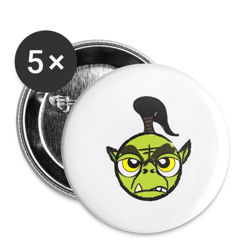 Warcraft Baby Orc - Buttons large 2.2'' (5-pack)