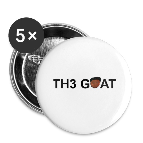 The goat cartoon - Buttons large 2.2'' (5-pack)