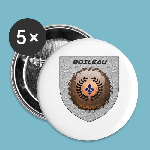 BOILEAU 1 - Buttons large 2.2'' (5-pack)