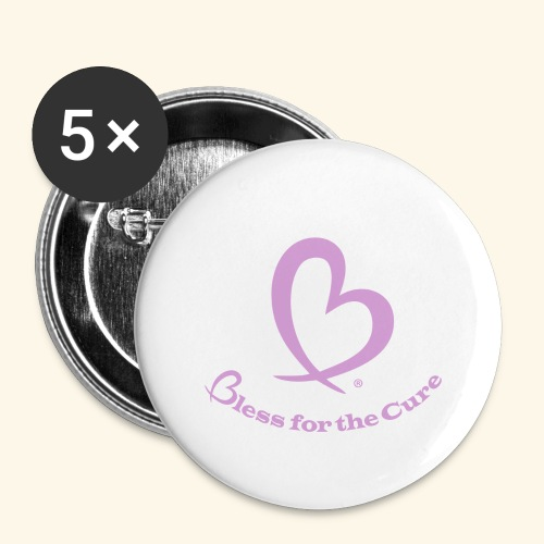 Bless for the Cure PINK - Buttons large 2.2'' (5-pack)