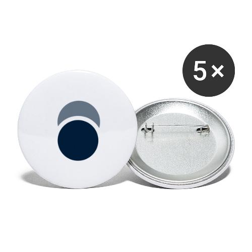 Eclipse - Buttons large 2.2'' (5-pack)