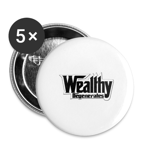DENALI VANDAL TEE - Buttons large 2.2'' (5-pack)