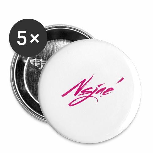 NSJAE Lovin Pink - Buttons large 2.2'' (5-pack)