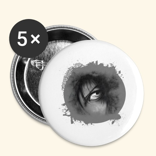 Regard sur le monde - Buttons large 2.2'' (5-pack)